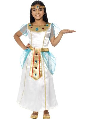 Girls Fancy Dress | Cleopatra Ancient Egyptian Costume